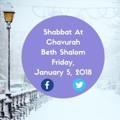 Rabbi Nat Benjamin Shabbat 2018