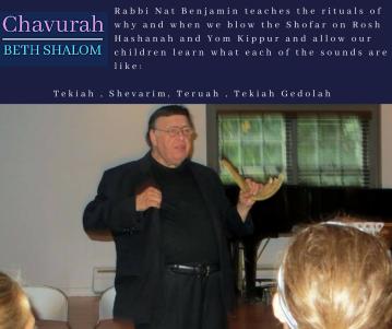 Rabbi Nat Benjamin, Chavurah Beth SHalom
